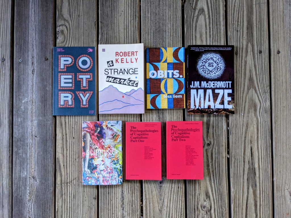 Books acquired in the week of May 23, 2021