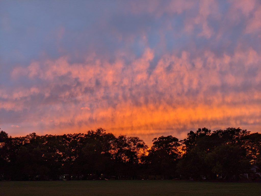 Wednesday September 22 Sunset